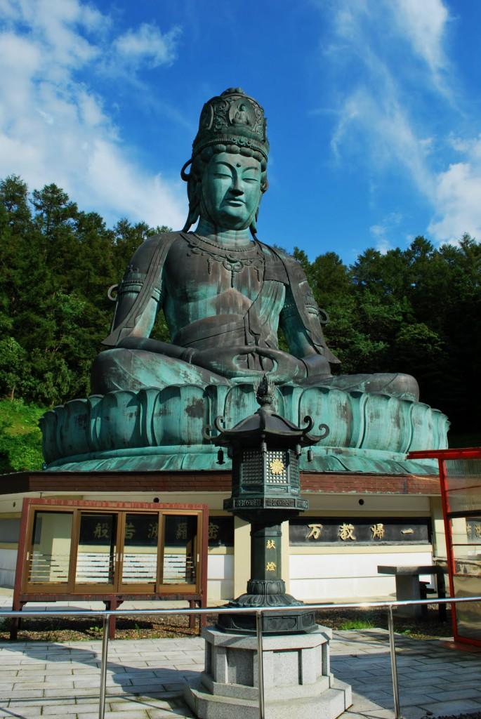 La plus grande statue de Bouddha du Japon